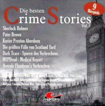 Die Besten Crime Stories Vol.1 - 10 Audio-CDs Hörspiel Box Best of Maritim Verlag Holmes Brown Yard