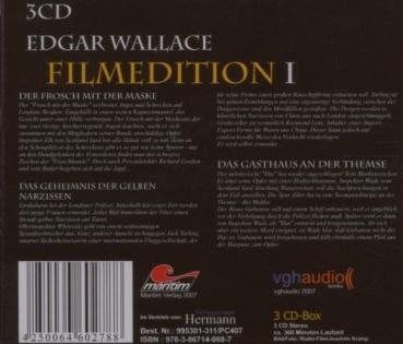 Edgar Wallace Filmedition 1