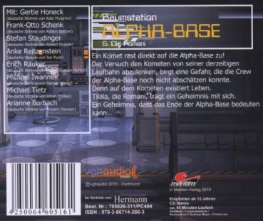 Raumstation Alpha-Base 6 - Die Romani