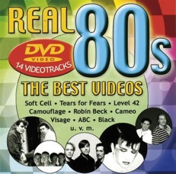Real 80s The Best Videos 14 Videotracks DVD
