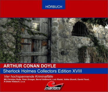 Sherlock Holmes Collectors Edition XVIII Hörspiel - Box CD Christian Rode Peter GrögerConan Doyle