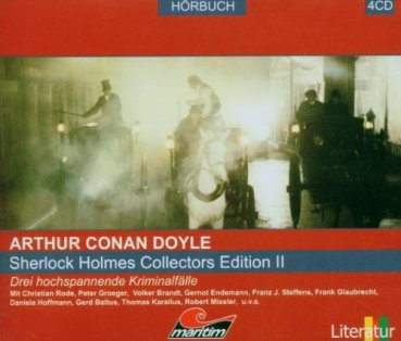 Sherlock Holmes Collectors Edition II CD Hörspiele Napoleons, Tal Furcht, Vampir Sussex
