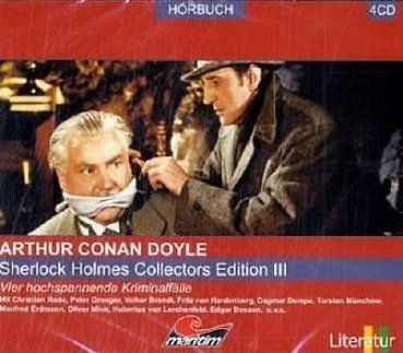 Sherlock Holmes Collectors Edition III CD Hörspiele Patient, Böhmen, Norwood Rode Gröger