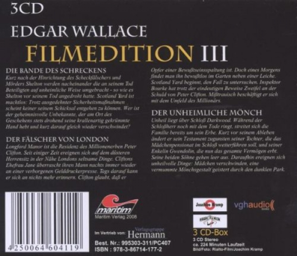 Edgar Wallace Filmedition III