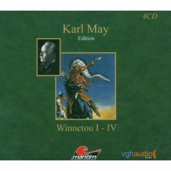 Karl May - Winnetou CD Hörspiel Box