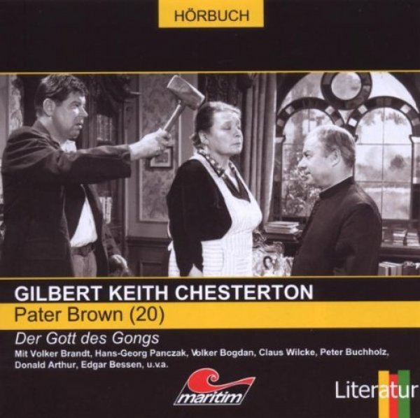 Pater Brown Teil 20 - Der Gott des Gongs CD