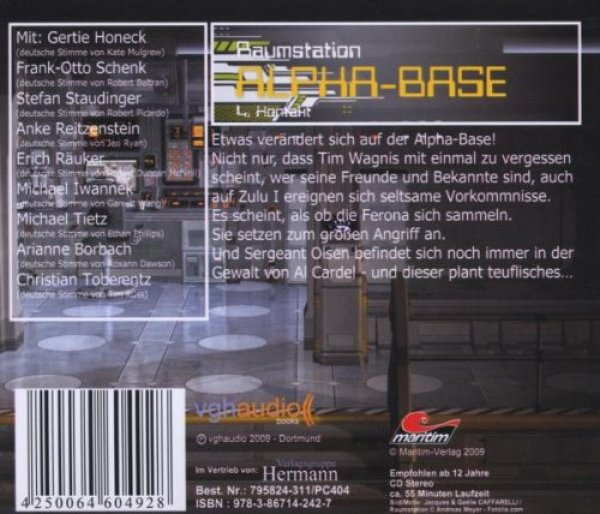 Raumstation Alpha-Base 4 - Kontakt