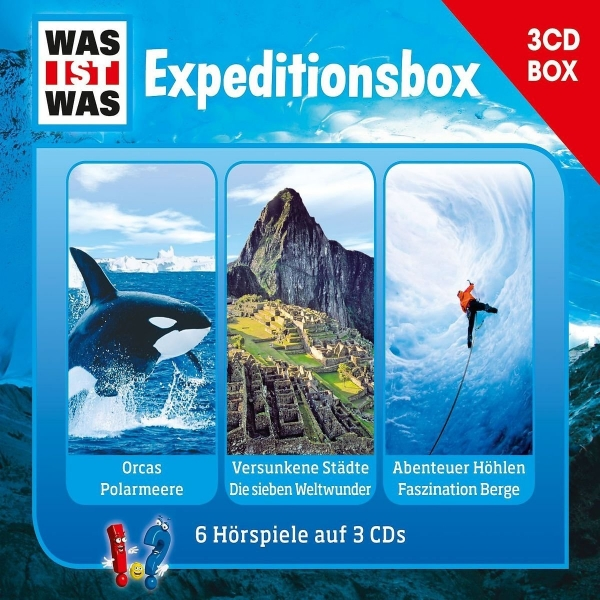 Was ist was - Expeditionsbox -  3 CD